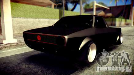 Volkswagen Caddy Widebody Top-Chop для GTA San Andreas