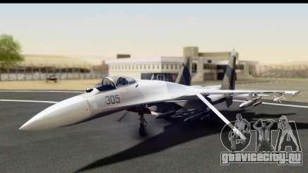 SU-35BM Yuktobanian Air Force для GTA San Andreas