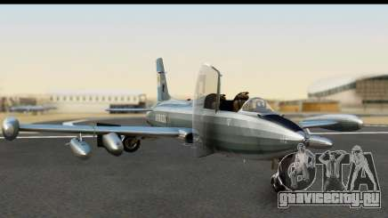 Aermacchi MB-326 ARM для GTA San Andreas