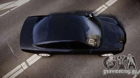 Dodge Charger SWAT Tactical Unit [ELS] rbl для GTA 4 вид справа