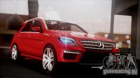 Mercedes-Benz ML 63 AMG 2014 для GTA San Andreas