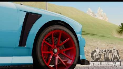 GTA 5 Bravado Buffalo S Sprunk IVF для GTA San Andreas вид изнутри