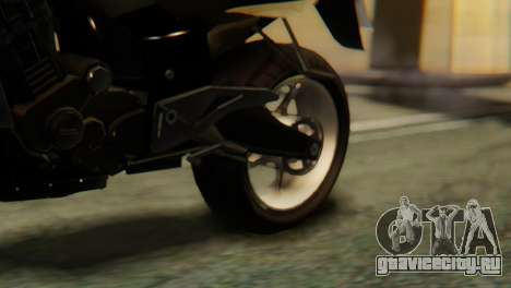 Bajaj Rouser 135 для GTA San Andreas вид сзади