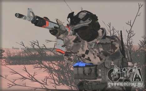 BF3 Soldier для GTA San Andreas четвёртый скриншот