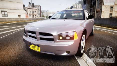 Dodge Charger Police Unmarked [ELS] для GTA 4