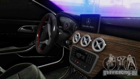 Mercedes-Benz A45 AMG для GTA San Andreas вид справа