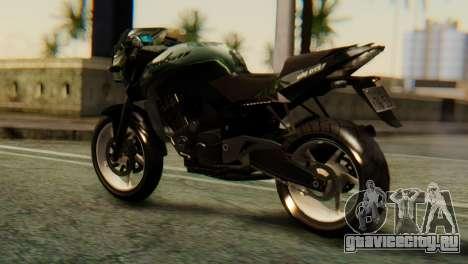 Bajaj Rouser 135 для GTA San Andreas вид слева