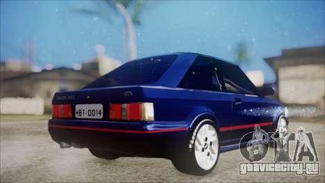 Ford Escort для GTA San Andreas вид слева