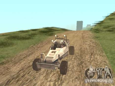 Buggy from Just Cause для GTA San Andreas вид слева