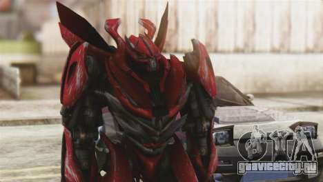 Dino Mirage Skin from Transformers для GTA San Andreas