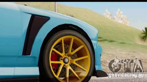 GTA 5 Bravado Buffalo S Sprunk IVF для GTA San Andreas вид сбоку