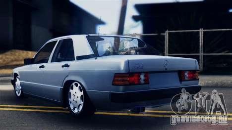 Mercedes-Benz 190E (W201) для GTA San Andreas вид слева