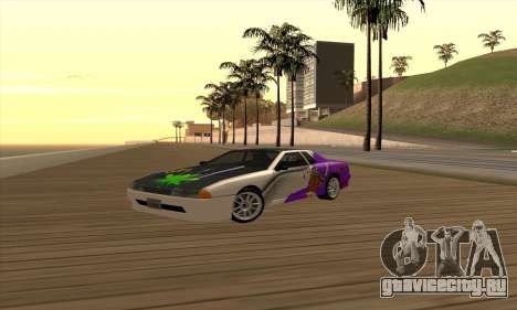 Винил Elegy Winged для GTA San Andreas