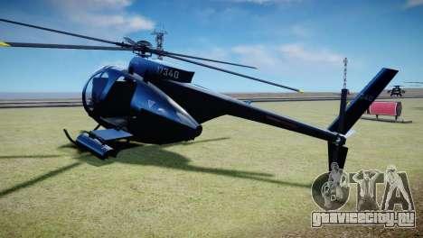 Buzzard from GTA 5 для GTA 4 вид слева