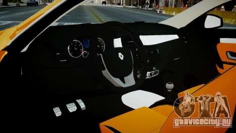 Renault Laguna Coupe для GTA 4 вид сзади
