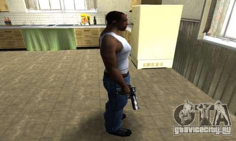 Field Tested Deagle для GTA San Andreas третий скриншот