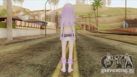 Nepgear Idol (Hyperdimension Neptunia) для GTA San Andreas второй скриншот
