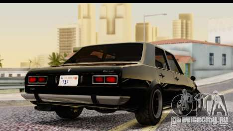 GTA 5 Vulcar Warrener IVF для GTA San Andreas вид слева