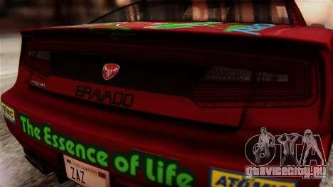 GTA 5 Bravado Buffalo Sprunk HQLM для GTA San Andreas вид сзади
