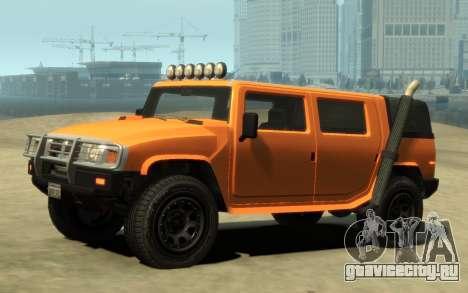 Mammoth Patriot Pickup v2 для GTA 4