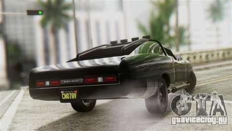 GTA 5 Imponte Dukes ODeath IVF для GTA San Andreas вид слева