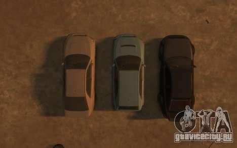 Karin Sultan Hatchback v2 для GTA 4 вид снизу