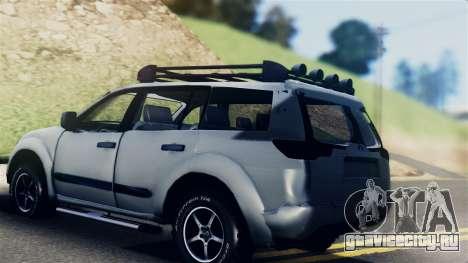 Mitsubishi Pajero 2014 Sport Dakar Offroad для GTA San Andreas вид слева