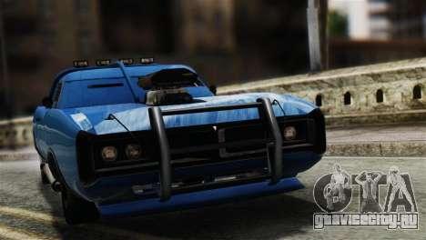 GTA 5 Imponte Dukes ODeath для GTA San Andreas вид сзади слева