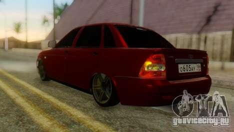Lada Priora Sedan для GTA San Andreas вид слева
