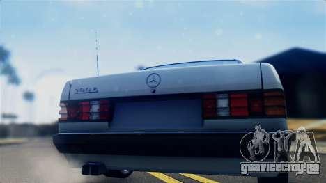 Mercedes-Benz 190E (W201) для GTA San Andreas вид справа