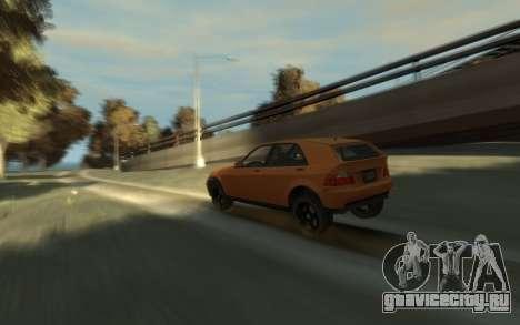 Karin Sultan Hatchback v2 для GTA 4 вид справа