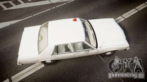 Ford LTD Crown Victoria 1987 Detective [ELS] для GTA 4 вид справа