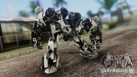 Soundwave Skin from Transformers для GTA San Andreas