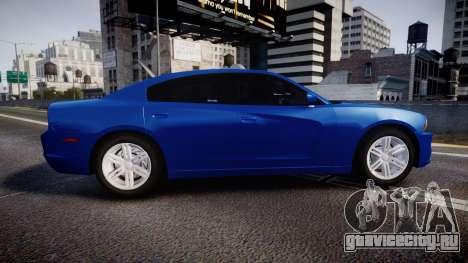 Dodge Charger SWAT Tactical Unit [ELS] bl для GTA 4 вид слева
