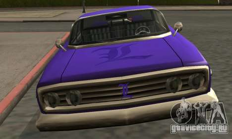 Luni Voodoo Remastered для GTA San Andreas салон
