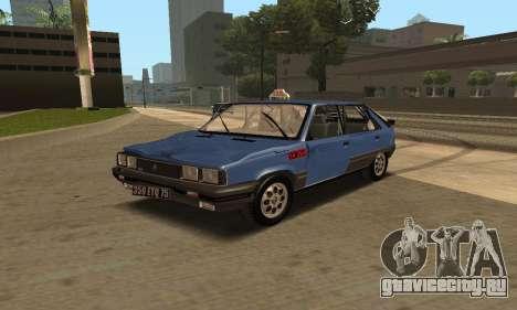 Renault 11 TXE Taxi для GTA San Andreas колёса