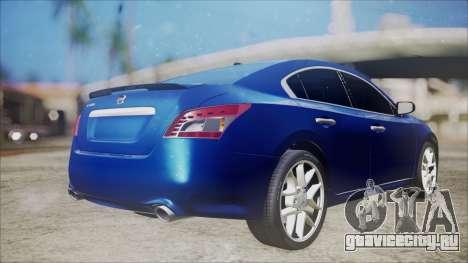 Nissan Maxima 2009 для GTA San Andreas вид слева