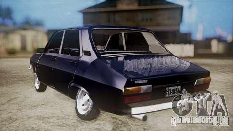 Renault 12 TL для GTA San Andreas вид слева
