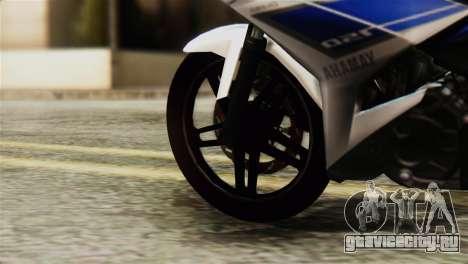 Yamaha MX KING 150 для GTA San Andreas вид сзади слева