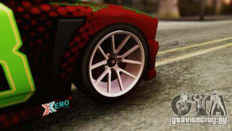 GTA 5 Bravado Buffalo Sprunk HQLM для GTA San Andreas вид сзади слева