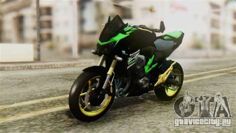 Kawasaki Z800 Modified для GTA San Andreas