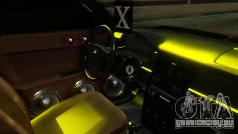 Lada Priora Sedan для GTA San Andreas вид справа