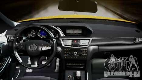 Mercedes-Benz E63 для GTA San Andreas вид справа