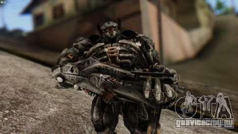 Shockwave Skin from Transformers v2 для GTA San Andreas