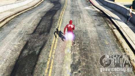 The Flash для GTA 5 третий скриншот