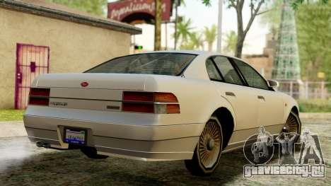 GTA 4 Intruder для GTA San Andreas вид слева