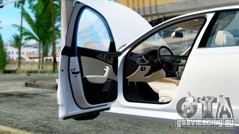 Audi A6 Stanced для GTA San Andreas вид сбоку