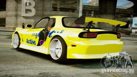 Mazda RX-7 FD3S BN Sports для GTA 4 вид слева