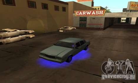 Cleo Neon для GTA San Andreas четвёртый скриншот