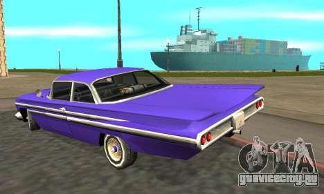 Luni Voodoo Remastered для GTA San Andreas вид справа